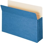 Smead 74225 Blue Colored File Pockets SMD74225