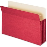 Smead 74231 Red Colored File Pockets SMD74231
