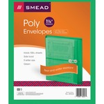 Smead 89523 Green Poly Envelopes with String-Tie Closure SMD89523