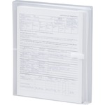 Smead 89661 Clear Poly Envelopes with Hook-and-Loop Closure SMD89661