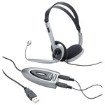 Compucessory Multimedia USB Stereo Headset CCS55257
