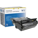 Elite Image Toner Cartridge - Remanufactured for Lexmark - Black ELI75072