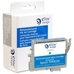 Elite Image Ink Cartridge - Remanufactured for Epson - Cyan ELI75253