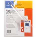 Sparco Slide Bind Transparent Report Covers SPR71131