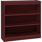 Lorell Panel End Hardwood Veneer Bookcase LLR60071