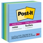 Post-it Super Sticky Tropical Note MMM6756SST