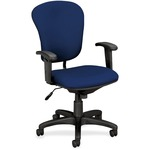 Basyx by HON VL620 Mid Back Task Chair with Adjustable Arms BSXVL620VA90