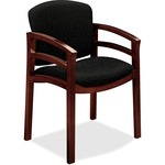 HON Invitation 2112 Double Rail Arm Chair HON2112NBE11