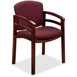 HON Invitation 2112 Double Rail Arm Chair HON2112NBE62