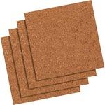 Quartet Cork Tile or Roll Bulletin Board QRT102Q