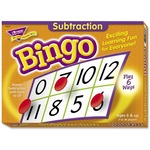 Trend Subtraction Bingo Learning Game TEPT6070