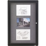 Quartet Radius Frame Indoor Bulletin Board QRT2363L