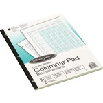 Wilson Jones Side-Bound Punched Columnar Pads WLJG7205