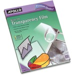 Apollo Write-On Transparency Film APOWO100CB