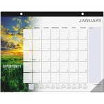 At-A-Glance Motivational Monthly Desk Pad Calendar AAGSKW80000