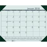House of Doolittle EcoTones Compact Calendar Desk Pad HOD12471