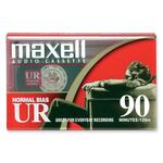 Maxell Normal Bias Audio Cassettes MAXUR90