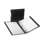 Samsill Antimicrobial Locking Round Ring Binder SAM14330