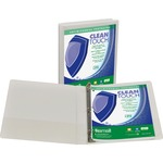Samsill Antimicrobial Insertable Round Ring Binder SAM18237