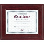 Burnes Executive Mahogany Document Frame DAXN15787NT