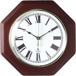 Chicago Lighthouse Octagon Mahogany Frame Clock ILC67207010