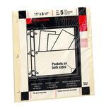 Wilson Jones Letter Size Manila Pocket Page WLJ53243
