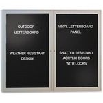 Ghent Enclosed Letterboard GHEPA23648BXBK