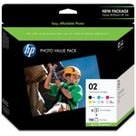 HP 2 Print Cartridge/Paper Kit - Assorted HEWQ7964AN