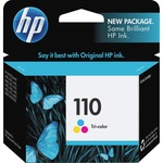 HP 110 Tri-color Original Ink Cartridge HEWCB304AN