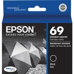 Epson DURABrite Ultra No. 69 Ink Cartridge - Black EPST069120