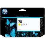 HP 70 Ink Cartridge - Yellow HEWC9454A