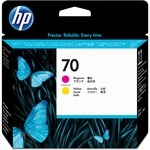 HP 70 Magenta and Yellow Printhead HEWC9406A