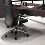 Cleartex Contoured Chair Mat FLR119923SR