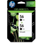 HP 56 Twin-pack Ink Cartridge - Black HEWC9319FN