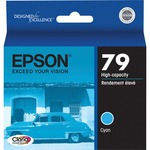 Epson 79 High-Capacity Cyan Ink Cartridge EPST079220