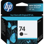 HP 74 Black Original Ink Cartridge HEWCB335WN