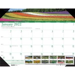 House of Doolittle Earthscapes Gardens of the World Desk Pad Calendar HOD174