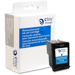Elite Image Ink Cartridge - Remanufactured for HP - Black ELI75304