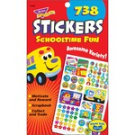 Trend Schooltime Fun Sticker Pad TEPT5008