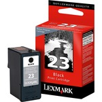 Lexmark No. 23 Return Program Black Ink Cartridge LEX18C1523