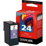 Lexmark No. 24 Return Program Color Ink Cartridge LEX18C1524