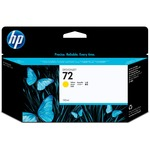 HP 72 Ink Cartridge - Yellow HEWC9373A