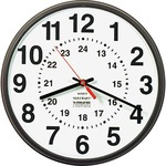 SKILCRAFT 12/24 Hour Wall Clock NSN3428199