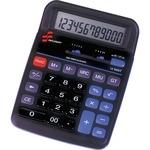 SKILCRAFT 12-Digit Dual Powered Desktop Calculator NSN4844560