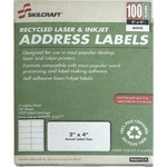 SKILCRAFT Laser Shipping Label NSN5144903