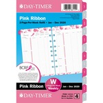 Day-Timer Pink Ribbon 2 PPW Refill DTM14210