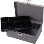 Sparco All-Steel Cash Box with Latch Lock SPR15501