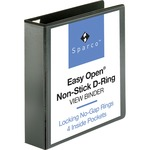 Sparco Locking D Ring Binder SPR26960