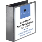 Sparco Locking D Ring Binder SPR26962