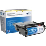 Elite Image MICR Toner Cartridge - Remanufactured for Lexmark - Black ELI75195